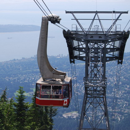 Capilano Bridge and Grouse Mountain